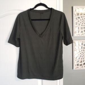 Topshop Vneck Tshirt